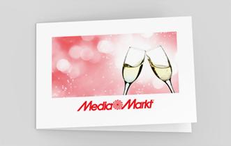 """Motif """"Champagne"""" (à plier en 4)"""